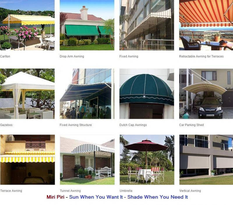 mp manufacturers india dome awnings for home cloth dome