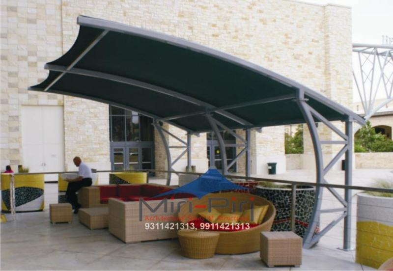 Cantilever Tensile Structure. & MP - Tensile Membrane Structure - ?Tensile Membrane ...