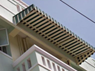 Metal Awnings, Metal Awnings for Houses, Commercial Metal Awning