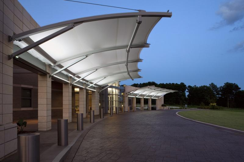 Architectural Canopy Structures : Mp cantilever structures design