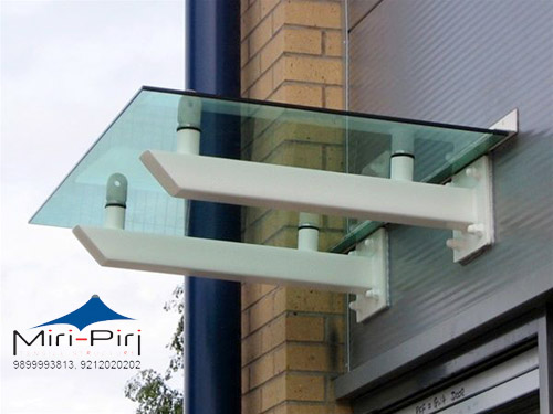Mp Manufacturers Glass Canopy Stainless Steel Glass