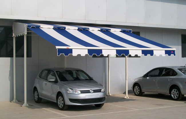 Car Parking Awnings Retractable System - Manufacturer, Contractors, Dealers,
