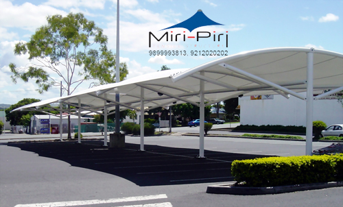 Car Parking Shade Structures - Manufacturer, Contractors, Dealers, Fabricators