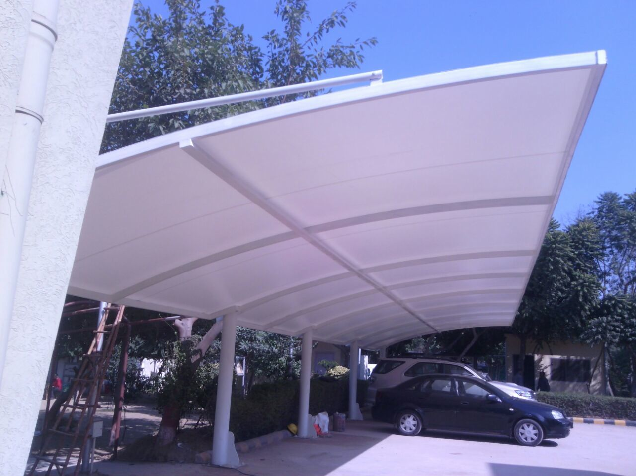 Mp Vehicle Car Parking Shed Shade Structure Manufacturers Delhi India