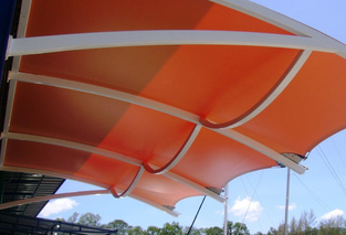 Commercial Awnings, Shop Awnings And Canopies, Commercial Fabric Awnings.