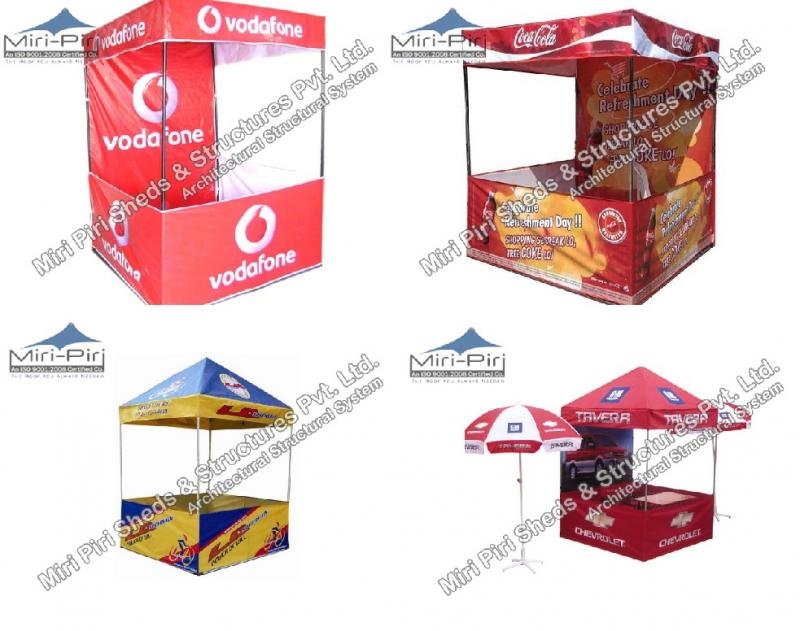 Demo Tents? Manufacturer?s Advertising Folding Stall Outdoor Promotional Stall  sc 1 st  Miri Piri & MP - Demo Tents - Manufacturers Suppliers Contractors Delhi ...