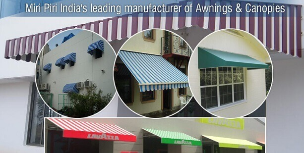 Mp Manufacturers India Dome Awnings For Home Cloth