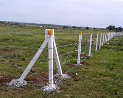 Mp Rcc Prestressed Cement Compound Concrete Fencing Poles
