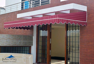 Fixed Awnings, Fixed Residential Awnings, Awnings Canopies, Delhi