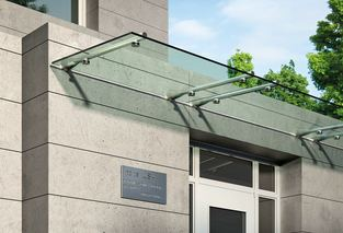 Glass Awnings, Glass Awnings For Home, Awning Canopy Delhi.