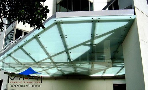 Glass Canopy Contractors & MP - Delhi - Glass Canopy Designs Glass Awning Residential Glass ...