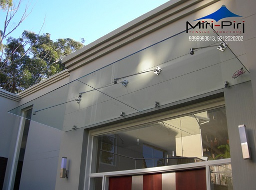 Glass Canopy Service Providers & MP - Delhi - Glass Canopy Designs Glass Awning Residential Glass ...