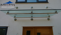 Glass Canopy Fittings Manufacturers | Glass Canopy Detail | Glass Canopy Design