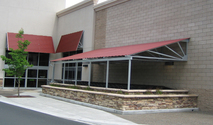 Metal Awnings - Manufacturer, Dealers, Contractors, Suppliers, New Delhi, India