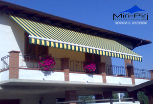 Manufacturers - Motorised Awnings, Electric Awnings, Awnings Dealers Delhi.