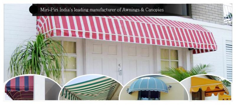 Outdoor Canopy Awning - Manufacturer, Dealers, Contractors, Suppliers, Delhi
