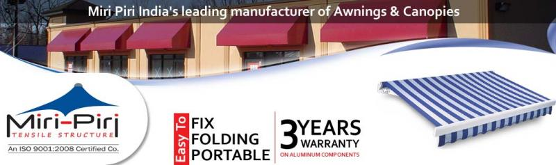 MP among the most Preferred and Prominent Awning manufacturers in New Delhi