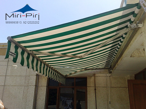 Mp retractable awnings retractable terrace awnings for Terrace shed designs india
