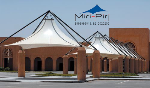 Roof Tensile Structures Delhi & MP - Roof Tensile Structures Manufacturer