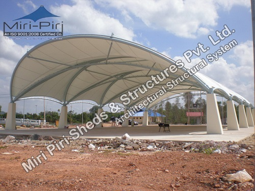 Tensile Fabric Structures Manufacturer Tensile Membrane Structure Manufacturer & MP - Best Tensile Membrane Fabric Structures Manufacturer Delhi ...
