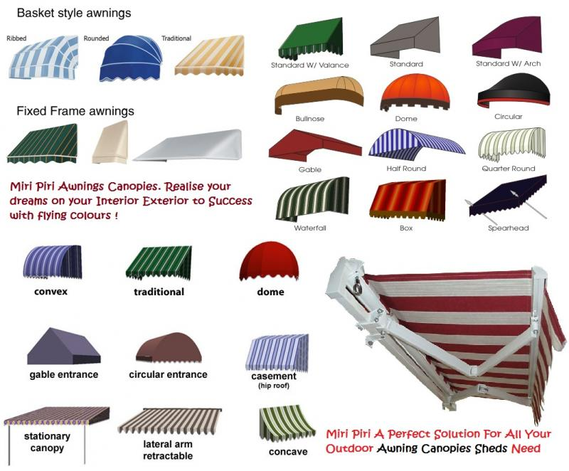Outdoor Shelters Sheds & Structures - Terrace Awnings - Terrace ...