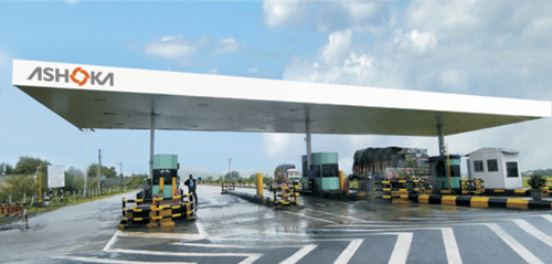 Mp Toll Naka Canopy Portable Toll Booth Prefabricated