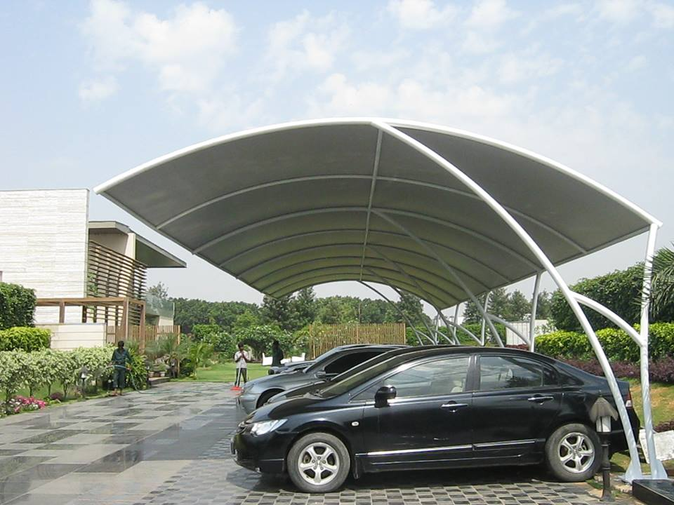Mp Vehicle Car Parking Shed Shade Structure Manufacturers Delhi