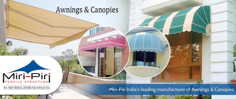 Awnings Canopies Manufacturer In New Delhi